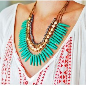 31 Bits Tribal Verbena Necklace